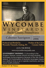 Wycombe Vineyards-Cabernet Sauvignon