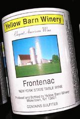 Yellow Barn Winery-Frontenac