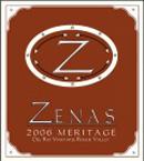 Zenas Wines-Meritage