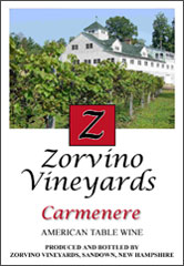 Zorvino Vineyards-Carmenere