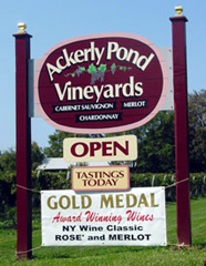 Ackerly Pond Vineyards - North Fork of Long Island