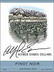 Alfred Eames Cellars Pinot Noir