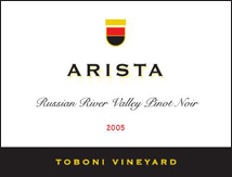 Arista Winery Pinot Noir