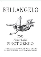 Villa Bellangelo Finger Lakes Pinot Grigio