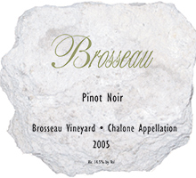 Brosseau Wines Chalone Pinot Noir