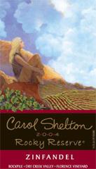 Carol Shelton Wines Rocky Reserve Zinfandel