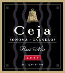 Ceja Vineyards - Carneros, Napa Valley Pinot Noir