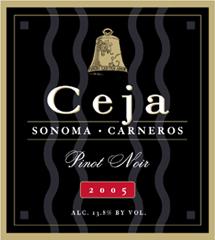Ceja Vineyards - Carneros, Napa Valley Pinot Noir