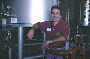 Cinnabar Vineyard and Winery winemaker, George Troquato