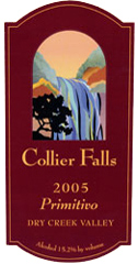 Collier Falls Vineyards - Primitivo