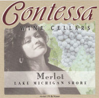 Contessa Wine Cellars Lake Michigan Shore Merlot