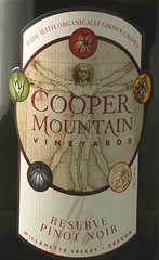 Cooper Mountain Vineyards 2005 Pinot Noir