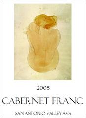 Dame de la Cour Wines Cabernet Franc
