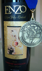Enzo Wines Gold Medal Oakville-Napa Valley Cabernet Sauvignon