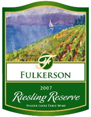 Fulkerson Winery Finger Lakes Riesling