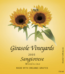 Girasole Vineyards Sangiovese