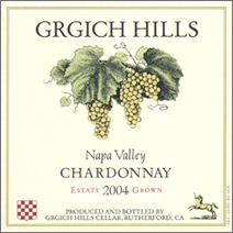 Grgich Hills Cellar, Napa Valley Chardonnay