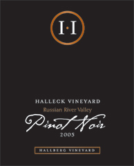 Halleck Vineyards Pinot Noir