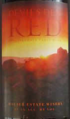 Hauser Estate Winery - Devils Den Red Wine