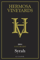 Hermosa Vineyards Syrah