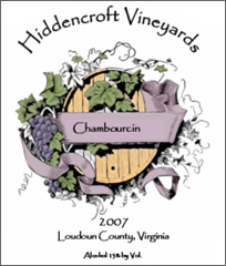 Hiddencroft Vineyards-Chambourcin