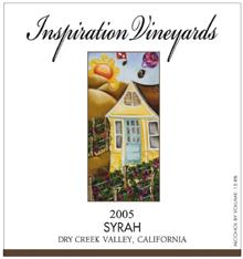 Inspiration Vineyards Syrah