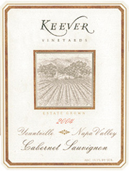 Keever Vineyards Napa Valley Cabernet Sauvignon
