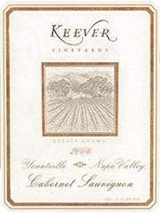 Keever Vineyards Napa Valley Cabernet Sauvignon