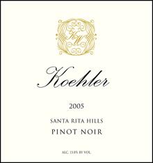 Koehler Winery Pinot Noir