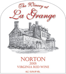 The Winery at La Grange Virginia Norton