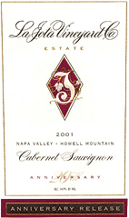 La Jota Vineyard Cabernet Sauvignon