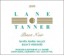 Lane Tanner Julia&#39s Vineyard Pinot Noir