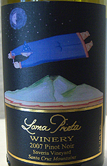 Loma Prieta Winery - Santa Cruz Mountains Pinot Noir