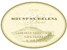 Mount St. Helena Brand Cabernet Sauvignon