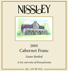 Nissley Vineyards Cabernet Franc