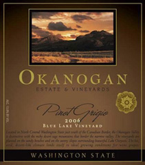 Okanogan Estate & Vineyards Pinot Grigio