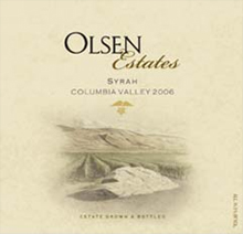 Olsen Estates Syrah
