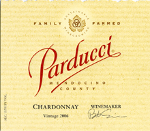 Parducci Wine Cellars - Chardonnay