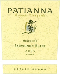 Patianna Organic Vineyards Sauvignon Blanc