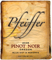 Pfeiffer Vineyards Pinot Noir