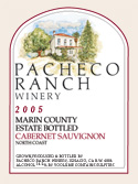 Pacheco Ranch Winery-Cabernet Sauvignon