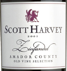 Scott Harvey Wines Amador County Zinfandel