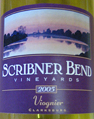 Scribner Bend Vineyards Viognier
