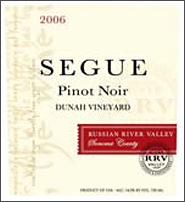 Seque Cellars Pinot Noir