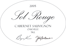 Sol Rouge Vineyard and Winery Cabernet Sauvignon