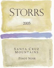 Storrs Winery-Pinot Noir