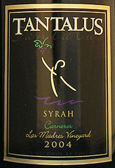 Tantalus Winery Carneros Syrah