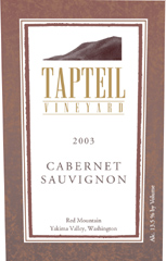 Tapteil Vineyard Winery Cabernet Sauvignon