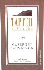 Tapteil Vineyard Winery Cabernet Sauvignon