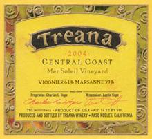 Treana Winery white wine